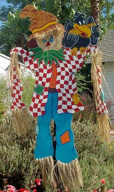 Halloween Scarecrow Yard Display
