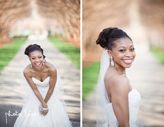 Arboretum and Botanical Garden | Dallas Bridal Portraits | Laughing Bride | Bridal portraits poses