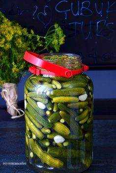 Romanian Food, Pasta, Cayenne Peppers, Fermented Foods, Food Humor, Food Pictures, Pickles, Cucumber, Mason Jars