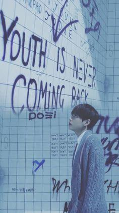 BTS || RUN Japanese ver. || V wallpaper for phone
