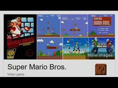 Google's Easter Egg for the 30th Anniversary of Super Mario Bros.
