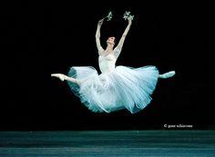 Svetlana Zakharova in Giselle, Bolshoi Ballet Theatre, Moscow by Gene Schiavone