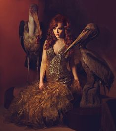 More Incredible Surreal Photography by Miss Aniela - My Modern Metropolis - Pelican Daughters, anyone?