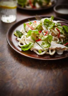 CHICKEN UDON SALAD
