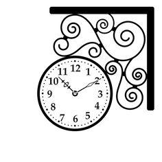 Une petite horloge a véctoriser