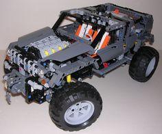 TechLug.fr - Review Lego Technic #8297 Tout-terrain