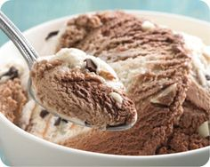 This contest winner is a returning favorite that features a unique blend of milk chocolate, dark chocolate and white chocolate ice creams swirled with pieces of white and dark chocolate. Crafted in small batches to ensure a smooth, creamy texture.