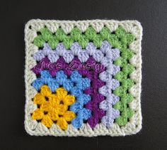 Christmas Crochet Patterns, Crochet Doily Patterns, Granny Square Crochet Pattern, Hand Embroidery Patterns, Crochet Squares, Crochet Doilies, Stitch Patterns, Crochet Hooks, Knit Crochet