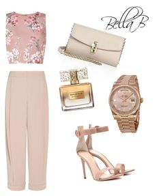 """""""Send me nudes"""" by banbangotit on Polyvore featuring Miss Selfridge, Dolce&Gabbana, Emporio Armani, Gianvito Rossi, Givenchy and Rolex"""