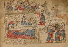 The Nativity and The Adoration of the Magi, Armenian, 1386