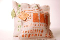 Taste PackagingBright Burlap Candy Branding