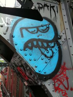 Blechman on Williamsburg Bridge....