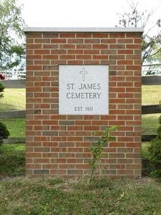 Saint James Cemetery  West Alexander  Washington County  Pennsylvania  USA