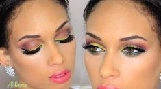 Gorgeous Makeup: Tips and Tricks With Eye Makeup and Eyeshadow – Makeup Design Ideas Eye Makeup Glitter, Hazel Eye Makeup, Applying Eye Makeup, Blue Eye Makeup, Eye Makeup Tips, Makeup For Brown Eyes, Smokey Eye Makeup, Makeup Ideas, Makeup Tutorials