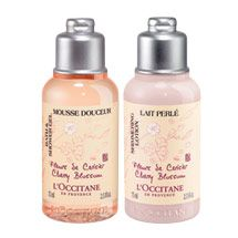 Cherry Blossom Shower gel and body lotion