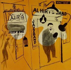 "Al Hirt's Jazz Band Ball (Verve, Cover artwork – David Stone Martin. Verve has reissued this on CD as ""Pete Fountain Presents the Best of Dixieland: Al Hirt. Lp Cover, Vinyl Cover, Cover Art, Poster Jazz, Al Hirt, David Stone, Cd Cover Design, Pochette Album, Jazz Art"
