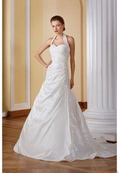 Herz-ausschnittt Nackhalter Preiswerte Brautkleider 2014