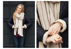Lauren of Girls of Lincoln Park Blog  Tried and Tested: The Sherpa-Lined Barbour