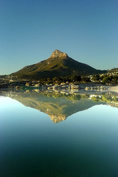 Symmetry by  Damien du Toit /coda on Flickr.Lion's head, Camps Bay, South Africa