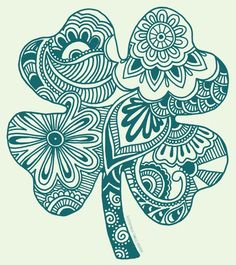 zentangle four leaf clover - Saferbrowser Yahoo Image Search Results Tinta Tattoo, Clover Tattoos, Shamrock Tattoos, Graffiti, Silkscreen, 1 Tattoo, Lucky Tattoo, Tattoo Fonts, Four Leaf Clover