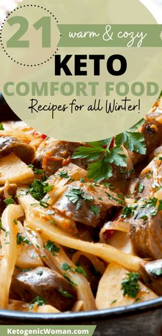 A collection of warm and cozy Keto Soups and Main Meal Casseroles for you to try all winter! Low Carb Taco Soup, Low Carb Tacos, Healthy Tacos, Coconut Curry Chicken Soup, Chicken And Dumplings, Soup Recipes, Keto Recipes, Baked Cauliflower Casserole, Chicken Cordon Bleu Casserole