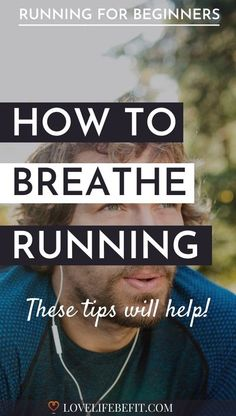 Want to know how to breathe while running? It's something a lot of new runners find difficult. Read these tips to improving your breathing. #runningtips #runningforbeginners #runningbreathing