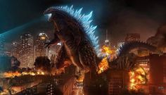 A night at the movies...  THE TWILIGHT GRIMOIRE: GODZILLA