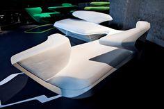 Zephyr Sofa by Zaha Hadid furniture 2
