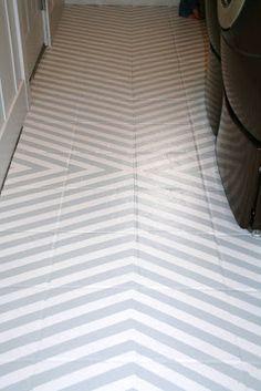 retropolitan: Painted Ceramic Tile Floors- A Tutorial