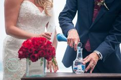 CBC230 Weddings Riviera Maya, Red roses centerpiece / bodas centro de mesa de rosas rojas