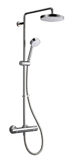 Mira Atom ERD Chrome Thermostatic Mixer Shower | Departments | DIY at B&Q
