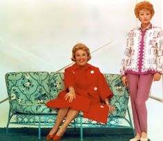 "Vivian Vance and Lucille Ball, ""The Lucy Show."""