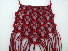 Jewellery Macrame necklace Boho necklace Handmade by asmina