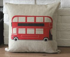 18X18 Linen Pillow cover Vintage retro pillow cover by bestlove2u, $18.00