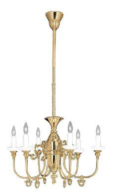 Victorian 6 Arm Gas Candle Chandelier Circa 1890 (717-HSA-CH)  http://www.vintagehardware.com/proddetail.php?prod=25777#