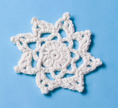 Free Crochet Pattern: Holiday Snowflake Pattern #: L0301