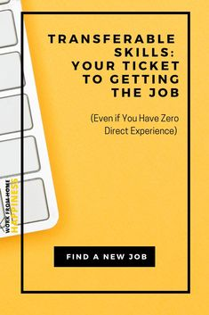Your transferable skills are your ticket to getting hired for any job, even if you have zero direct experience! Here's what transferable skills are (and aren't) and how to highlight them so you can make an effortless career change. Job Resume, Resume Tips, Find Work, Find A Job, Career Planning, Career Advice, Job Hunting Tips, Finding A New Job, Job Search Tips