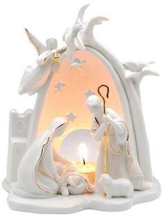 Appletree Design Bethlehem Holy Family Nativity Tea Light