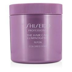 Shiseido The Hair Care Luminogenic Mask (Colored Hair) 680g/23oz -- This is an Amazon Affiliate link. You can get more details by clicking on the image.