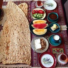 Persian #brunch for #spring #summers days  realiran.org