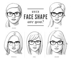 518b2ac1c6 Face Shapes   Glasses - Beauty Class  Check out this read about face shapes    wearing glasses. Wich face shape do you have   Wich glasses should you  choose
