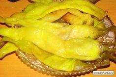Засолка зеленого стручкого перца (два вида)