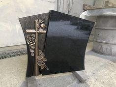 Swedish black granite Head Stone, Black Granite, Monuments, Faith