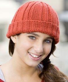 Toboggan Hat pattern by Heather Lodinsky