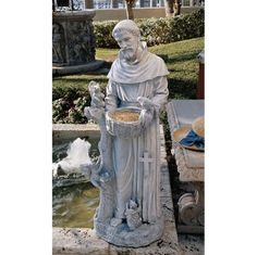 St. Francis--my favorite saint.
