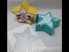 Star Box with Star Frameilites - YouTube