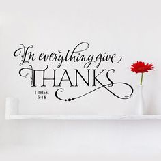(1 Thessalonians 5:18) Give thanks in all circumstances; for this is God's will for you in Christ Jesus. Gratitude. Thank you Lord.