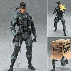 Figma 243 Solid Snake MGS2 Ver. Metal Gear Solid 2 Sons of Liberty Max Factory