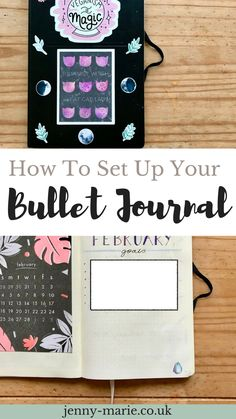 How to set up your bullet journal \\ Bullet journaling for beginners \\ Bullet journal \\ Bullet Journal ideas #bulletjournal #bulletjournaling #bulletjournalcollection