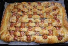 Virslis lábtörlő Hawaiian Pizza, Scones, Bacon, Bakery, Pie, Cookies, Desserts, Food, Torte